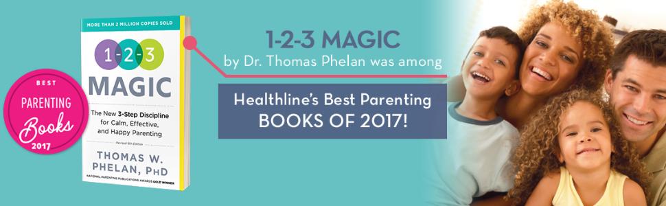 1-2-3 Magic was among Heathline's Best Parenting Books of 2017