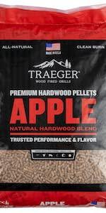 hardwood pellets apple smoking