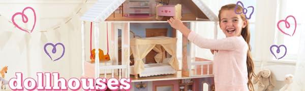 Kidkraft wooden Dollhouses