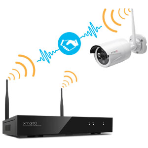 wifi camera automatically connect to hub nvr