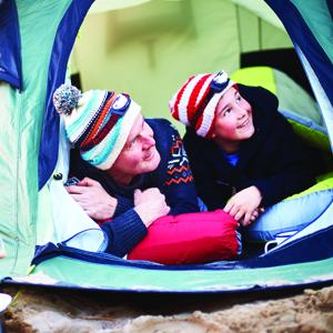 Redo för camping