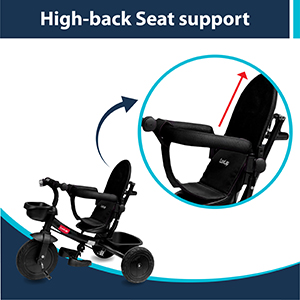 High-back Seat Support: