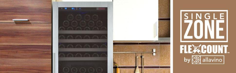 Allavino FlexCount Series Single Zone Wine Refrigerators
