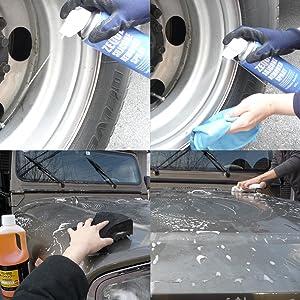 洗車・脱脂