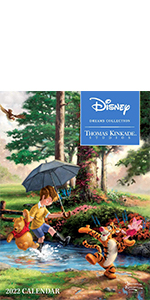 Disney Dreams Collection by Thomas Kinkade Studios: 2022 Monthly/Weekly