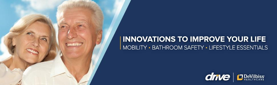 Innovations To Improve Your Life: Mobility, Bathroom Safety, Lifestyle Essentials