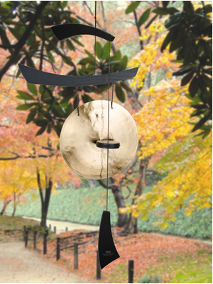 black Asian wind gong outdoor mothers day chinese meditation chime