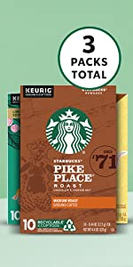 Amazon Exclusive Spring Bundle 3-Pack  K-Cup