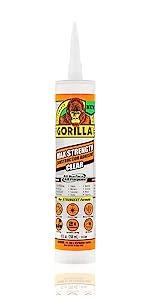 Gorilla Max Strength Heavy Duty Construction Adhesive