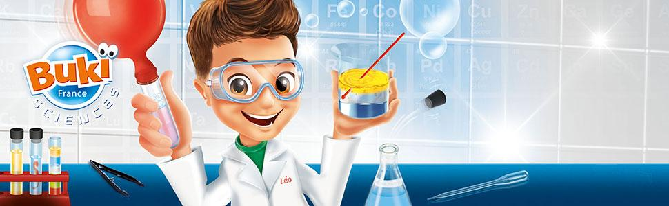 BUKI 8360 - Química 150 experimentos: Amazon.es: Juguetes
