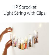 crystal heart display LED string light clips pen caddy gold album wallet case travel