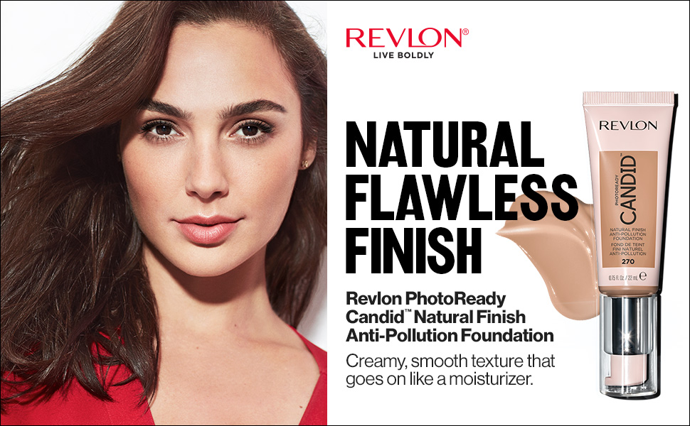 candid foundation makeup face natural finish anti pollution photoready