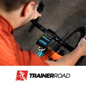 TrainerRoad training indoor cycle bicycle trainer  CycleOps M2 cycling