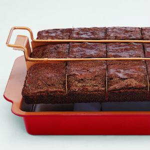 Amazon Com Red Copper Brownie Bonanza Pan By Bulbhead