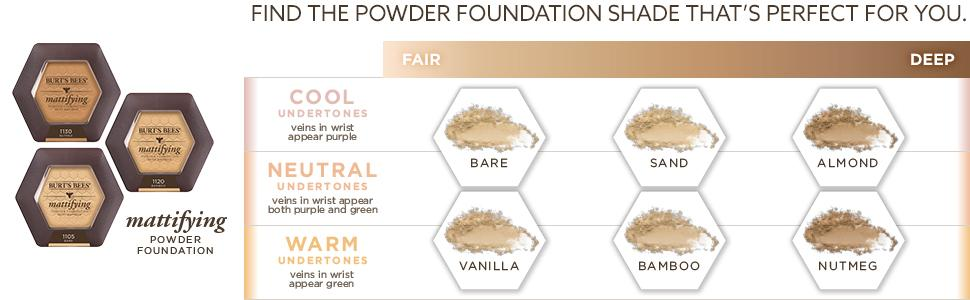 powder compacts;mineral face powder; oily skin makeup;ivory;beige;natural foundation;matte finish