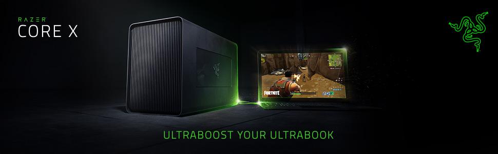 Razer Core X, External GPU Case, NVIDIA, ATI, AMD, Gaming, Esports, OS X, Windows 10