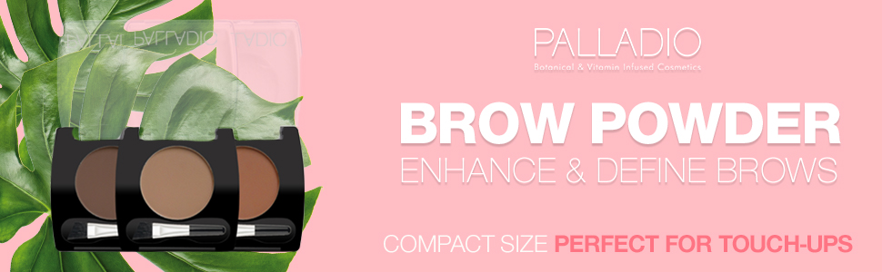 palladio, brow, brow make-up, brow makeup, make-up, makeup, powder, brow powder