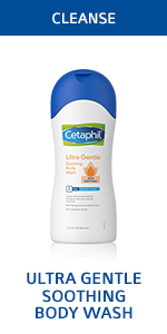 Ultra gentle soothing body wash