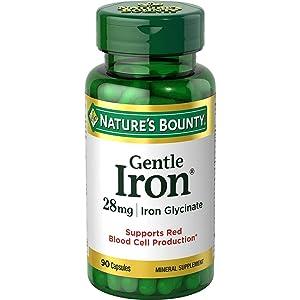 Nature's Bounty Gentle Iron