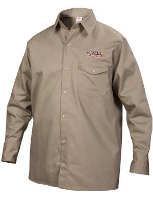 Welding Shirt; Khaki; Tan; Welding Jacket; Tan Welding;