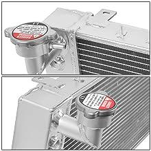 DNA Motoring RA-CHEROKEE-91-3 Aluminum Racing Radiator