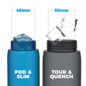 Wide Mouth - Fast Refills, Easy Clean