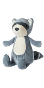 raccoon stuffed animal soft toy