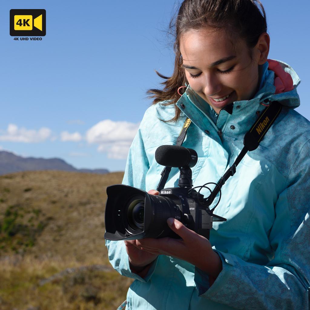 Nikon D7500 mit Serienbildfunktion