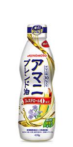 AJINOMOTO 味の素 J-オイルミルズ アマニ ブレンド油 アマニ油 コーン油 とうもろこし 油 オイル 健康 ヘルシー オメガ3 n-3系脂肪酸 必須脂肪酸 鮮度キープボトル デラミボトル