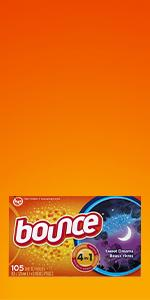 Amazon Com Bounce Fabric Softener Dryer Sheets With
