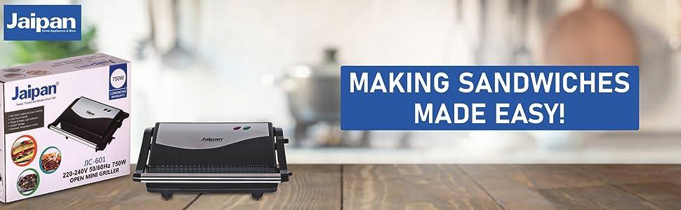 Sandwich Maker & Multi Griller