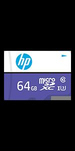 HP 64GB sx330 Class 10 U3 SD Flash Memory Card