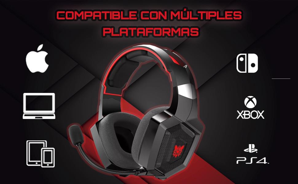 auriculares gaming, auriculares para gamers, cascos gaming, cascos para gamers, auriculares amazon