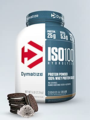 Dymatize whey protein ISO 100