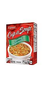 Lipton Instant Soup Mix Spring Vegetable 1.9 oz