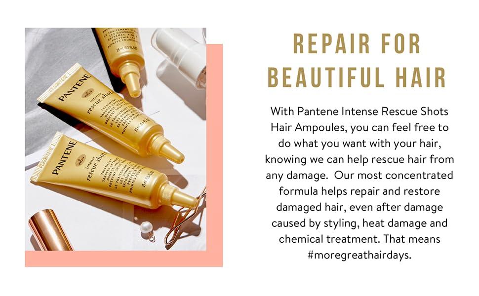 repair for beautiful hair damaged hair intensive repair protection styling heat damage store brittle