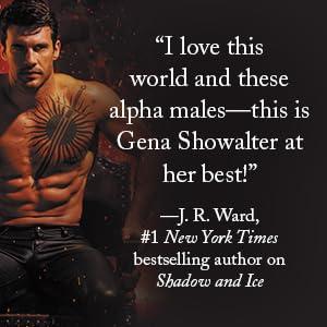 The Darkest King by Gena Showalter, endorsed by J.R. Ward