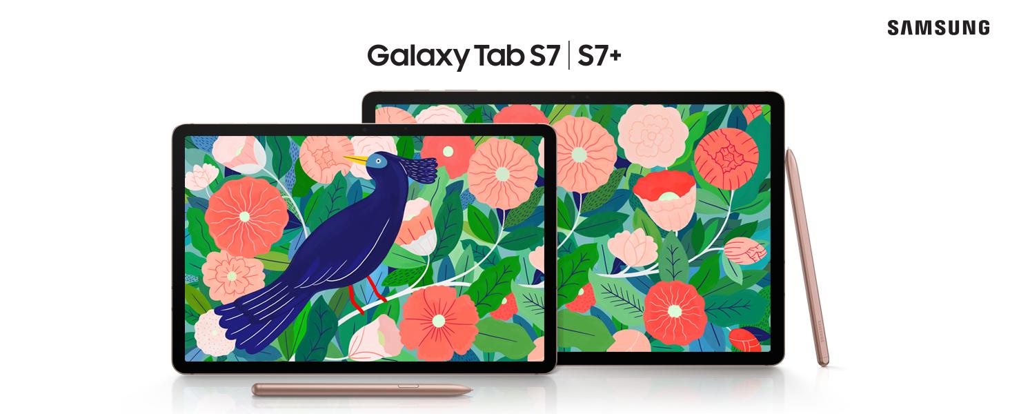 Samsung Galaxy Tab S7+ - Tablet Android 5G de 12.4
