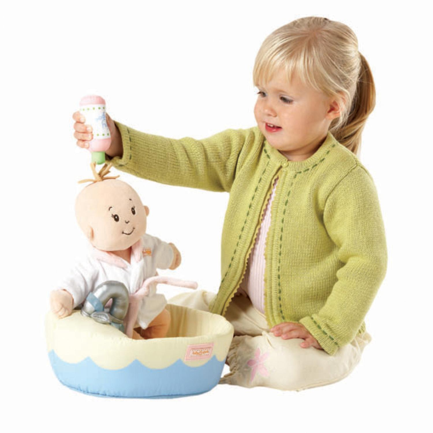 Baby Toys Age 4 : Manhattan toy baby stella blonde soft nurturing first