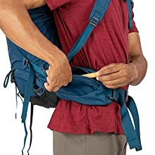 Zippered Hipbelt Pockets