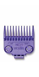 dual comb attachment set