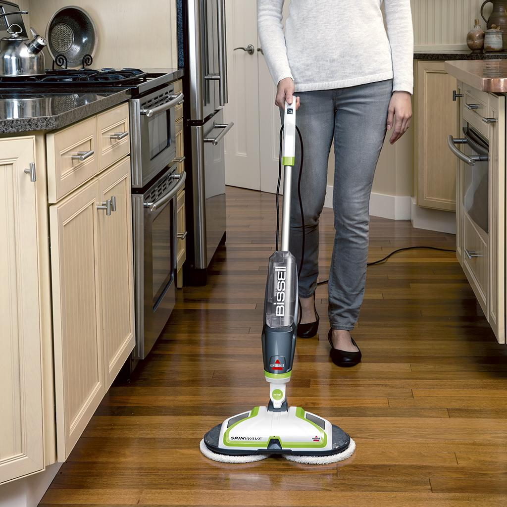 Amazon Com Bissell Spinwave Powered Hardwood Floor Mop