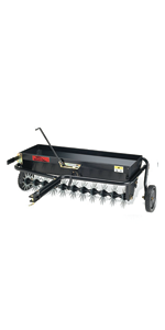 aerator core plugging pull behind tow steel