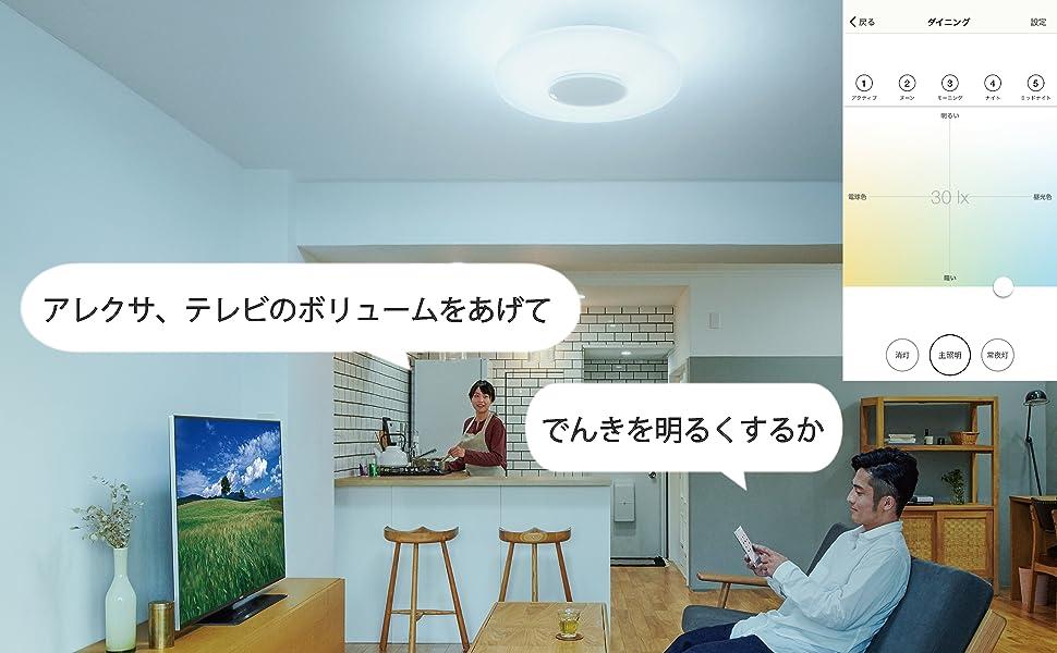 テレビ操作、エアコン操作、音声操作、照明操作、アマゾン・エコー、グーグルホーム