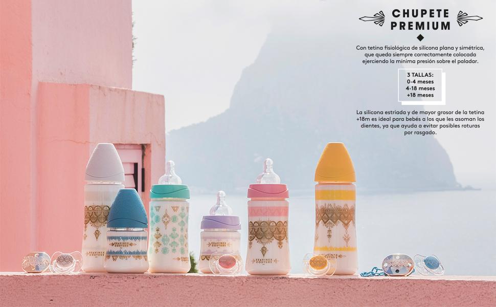 Suavinex - Chupete Premium Haute Couture Tetina Fisiológica ...