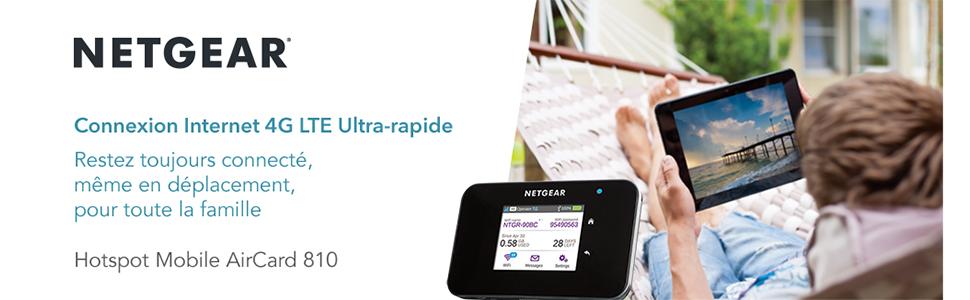 NETGEAR Connexion Internet 4G LTE Utra-rapide