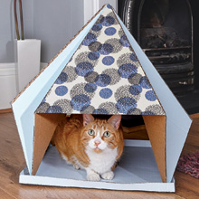 cat castles, cat gifts, gift for cat owner, gift for cat lover, cat toys, cat house, DIY, crafting