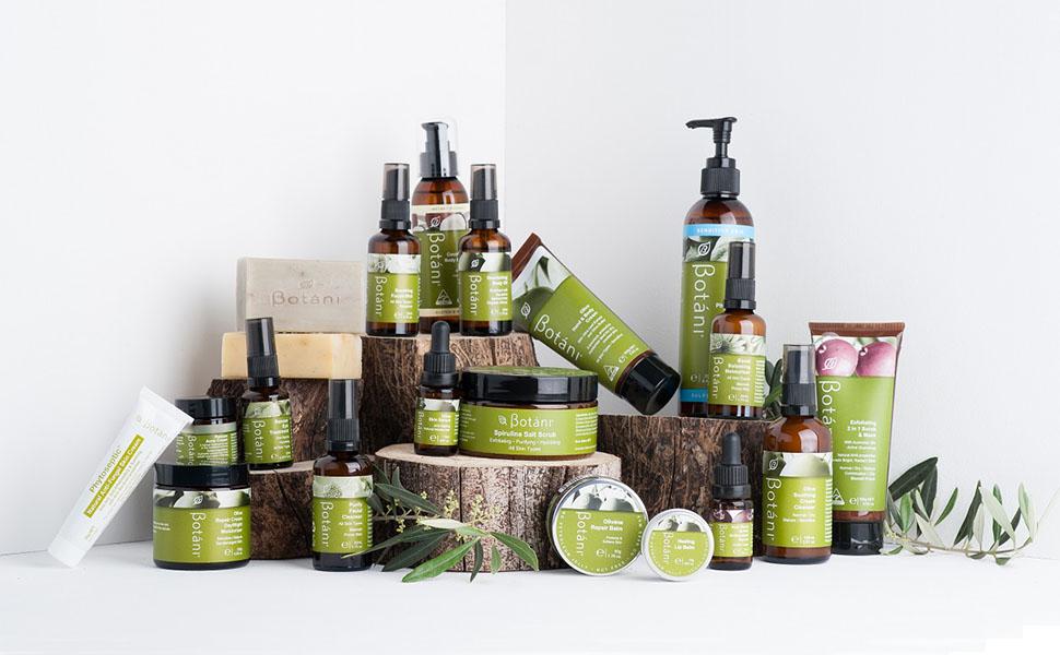 botani skincare, pharmaceutical, phytoseptic, antifungal, acne, olive serum