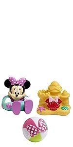Disney Baby Minnie Mouse Bath Squirt Toys