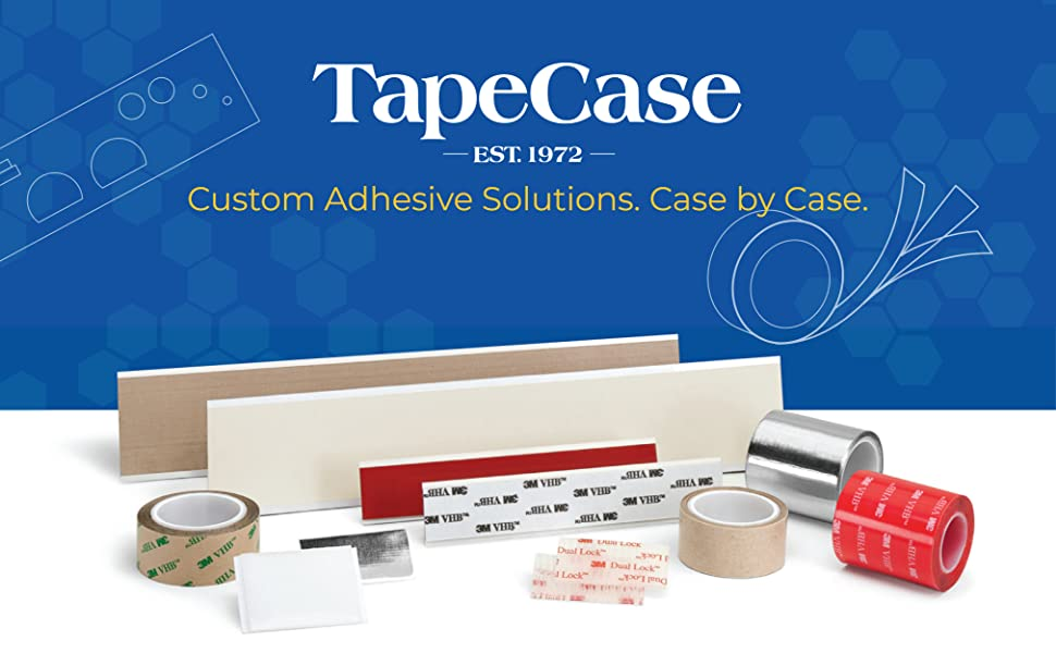 TapeCase, Tape, Adhesive, Solutions, Sticky, Die-Cut, Case